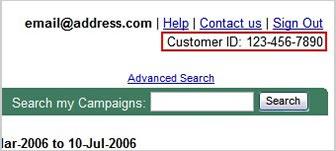 ID Google Adwords