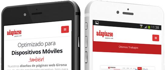 Diseño Web Girona Responsive