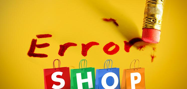 Errores del día al Montar una Tienda Online