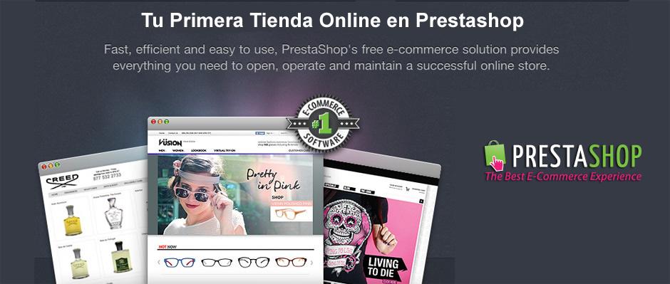 Tu Primera Tienda Online en Prestashop